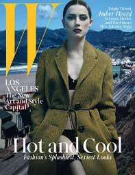 Johnny Depp Going Blind Amber Heard Reflects On Her Engagement To Johnny Depp W Magazine