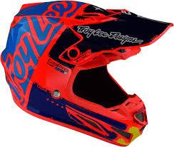 troy lee motocross gear 2018 troy lee designs se4 composite factory helmet motocross