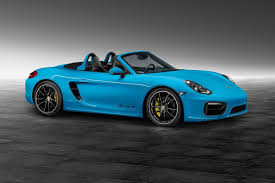 boxster porsche 2017 boxster s in riviera blue courtesy of porsche exclusive