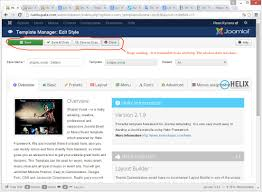 joomla 3 4 2 template manager has stopped working it is not
