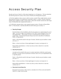security plan template information security incident response