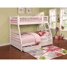 Bunk Bed With Twin Over Full by Coaster Bunks Twin Over Full Bunk Bed With 2 Drawers And Attached