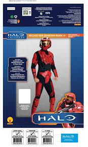 amazon com halo deluxe spartan costume clothing