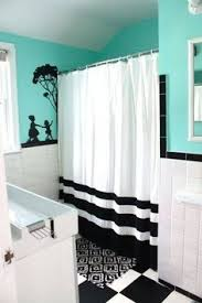black and blue bathroom ideas nautical bathroom curtain humble home nautical