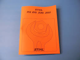 stihl chainsaw ms210 ms230 ms250 repair service manual