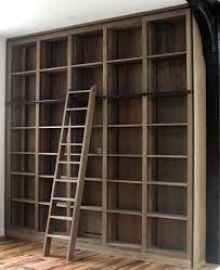 Ladder Shelf Bookcase Ikea Bookcase Built In Bookshelves With Ladder Step Ladder Bookcase