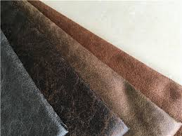 Upholstery Fabric Faux Leather 139 Cm Width Faux Leather Upholstery Material Dark Brown 100 Poly