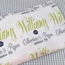personalized wedding blanket personalized name throw blanket monogrammed wedding gift