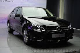 mercedes e class 350 price mercedes e350 cdi launch front quarters indian autos