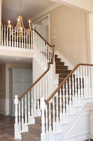 Banister Decor White Gold