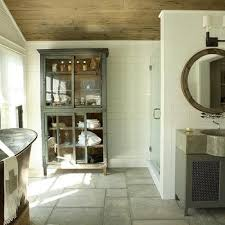 Vintage Linen Cabinet Design Ideas - Antique white bathroom linen cabinets