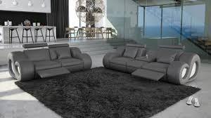 ensemble canap et fauteuil salon cuir nesta avec canapé 3 places 2 places fauteuil avec