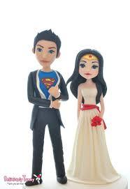 superman wedding cake topper superman wonderwoman wedding groom cake toppers figurines by