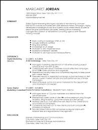 Product Marketing Manager Resume Example by Free Executive Digital Marketing Manager Resume Template Resumenow