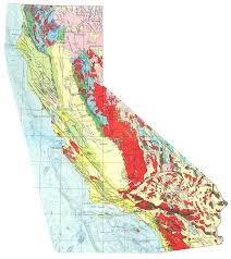 san francisco fault map the san andreas fault in california