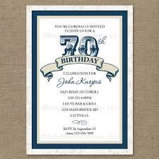 70th birthday invitation templates free musicalchairs us