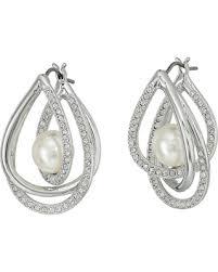 pierced earrings deal alert swarovski free pierced earrings white earring