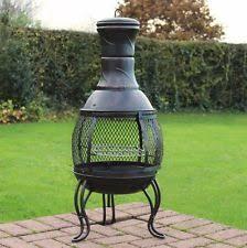 Homemade Chiminea Outdoor Wood Burner Ebay