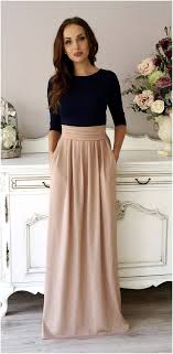 blue maxi dress navy blue cappuccino bridesmaid party maxi dress 3 4 sleeves