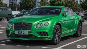 green bentley bentley continental gt speed 2016 5 september 2016 autogespot