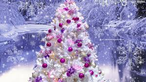 pink christmas tree wallpapers u2013 happy holidays