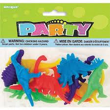 dinosaur party favors plastic dinosaur party favors 12 count walmart