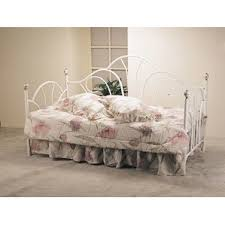 White Metal Daybed With Trundle White Metal Daybed Versailles Day Bed And Trundle Black