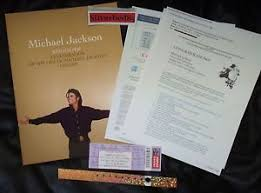 michael jackson funeral program michael jackson gold memorial program ticket wristband etc staple