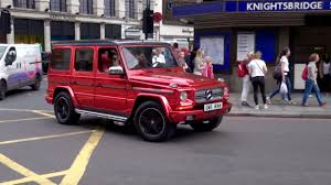 mercedes g wagon 2015 insanely loud red chrome mercedes g wagon revs u0026 acceleration in