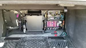 location of the fuse box in audi a8 2012 youtube
