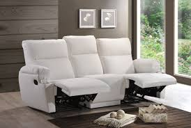 three seater recliner sofa recliner sofas univonna