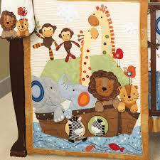 Noah S Ark Crib Bedding Noah S Ark Baby Bedding Lambs Crib Bedding Tinytotties
