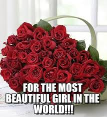 Beautiful Woman Meme - for the most beautiful girl in the world on memegen