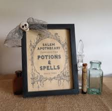 Halloween Kitchen Decor Halloween Apothecary Sign Halloween Decor Haunted House
