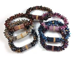 beading bracelet size images Marion jewels in fiber news and such peyote sleeves tutorial jpg
