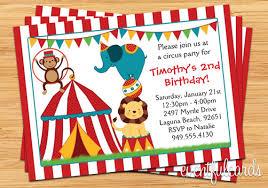 birthday invites cozy circus birthday invitations ideas circus