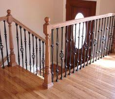 Iron Handrails For Stairs Craftsman Style Stair Railings Craftsman Cottage Decor