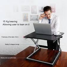 laptop riser standing desk best home furniture decoration