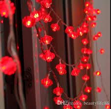 5m40led lantern small lantern string lights outdoor wedding arranged