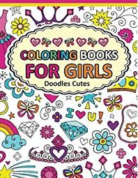 amazon doodle art cute coloring books adults girls