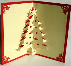 how to make a pop up christmas tree card christmas lights decoration