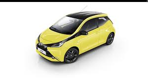 yellow toyota toyota spices up aygo x cite with yellow fizz paint