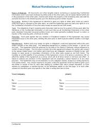 non disclosure agreement template word 28 images 18 word non