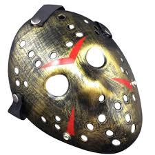 scary mask jason voorhees friday the 13th horror hockey scary mask