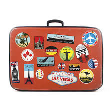 Travel Suitcase images Luggage stickers suitcase patches vintage travel labels retro jpg