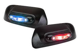 mirror mount beacon lights led whelen engineering automotive
