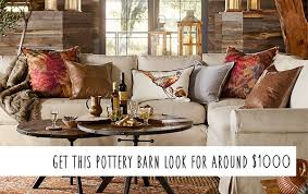 pottery barn photos pottery barn knockoff fall living room on a budget money saving
