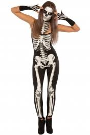 Womens Skeleton Halloween Costume 2017 Cheap Halloween Costumes Cosplay Costumes Wholesale