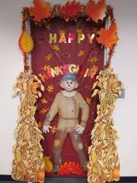 image of thanksgiving door decorations of the door then on
