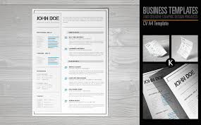 Resume Templates For Indesign Cv A4 Format Indesign Resume Template 65326